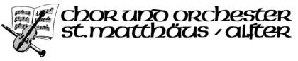 Logo Chor und Orchester St. Matthäus Alfter