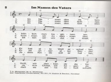 Lied Im Namen des Vaters
