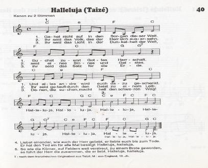 Lied Halleluja