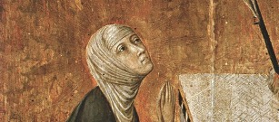 Hl. Katharina von Siena, Ordensfrau, Kirchenlehrerin, Schutzpatronin Europas